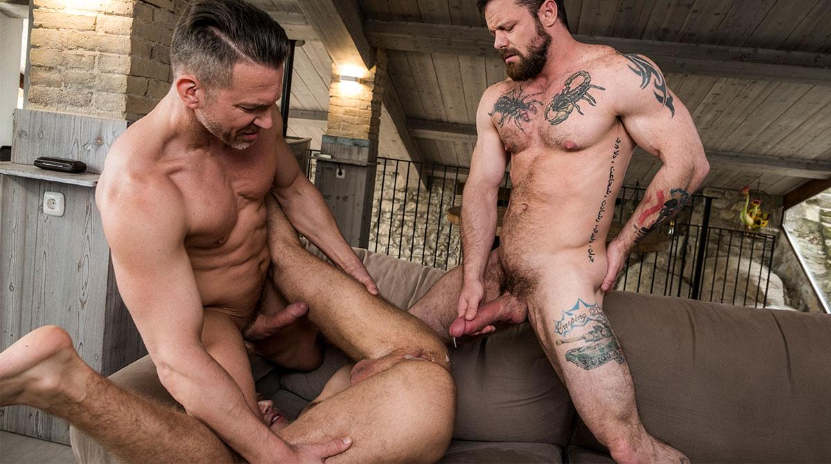 Sergeant Miles And Tomas Brand Share Yuri Orlov's Boy Hole