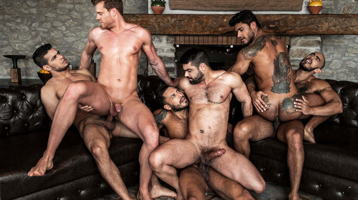 Rico Marlon's Raw Uncut Orgy