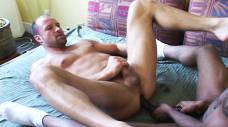 Hardcore Hunks Kent Larson and Kevin Wood Fuck Using Dildos