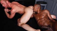 Colin Black Pounds Chris Daniels's Hole