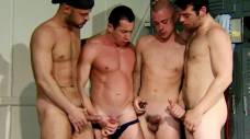 Vin, Logan, Felipe, and Davids Locker Room Fun