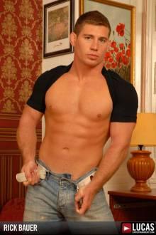 Rick Bauer - Gay Model - Lucas Entertainment