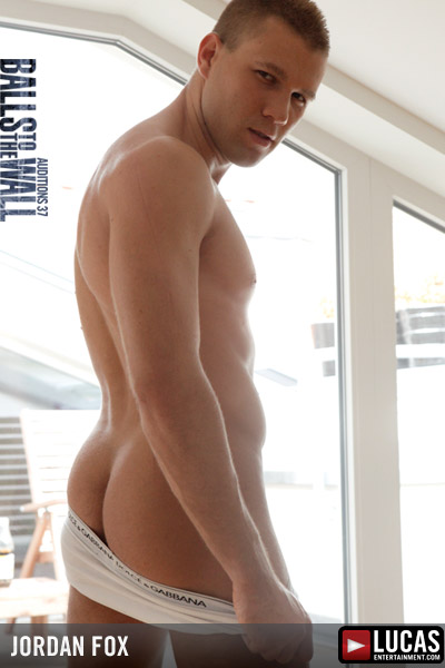 Jordan Fox - Gay Model - Lucas Entertainment