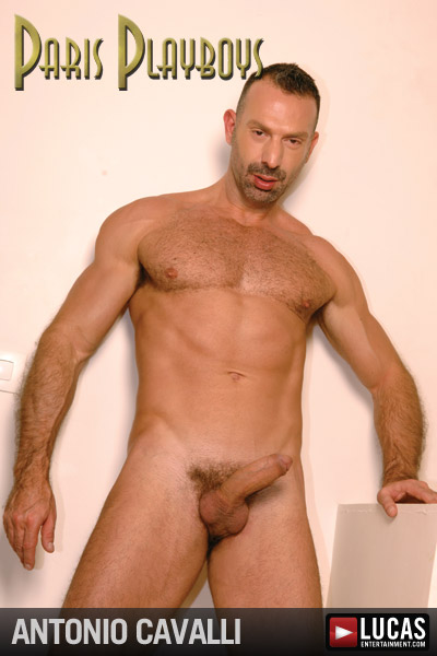 Antonio Cavalli - Gay Model - Lucas Entertainment