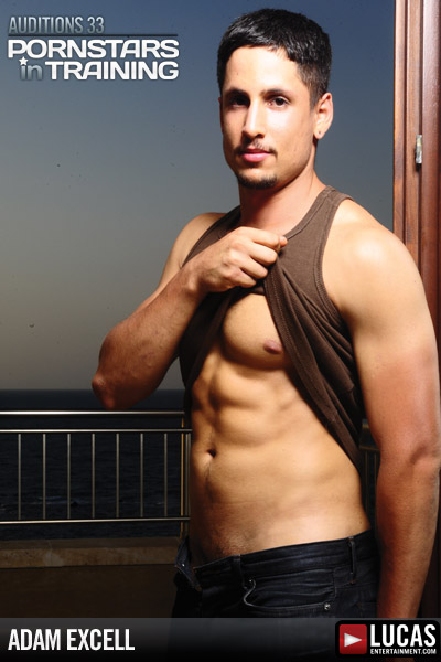 Adam Excell - Gay Model - Lucas Entertainment