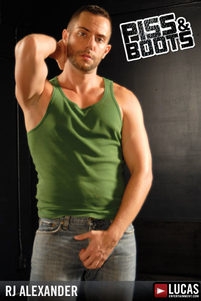 R.J. Alexander - Gay Model - Lucas Entertainment