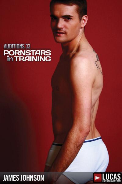 James Johnson - Gay Model - Lucas Entertainment