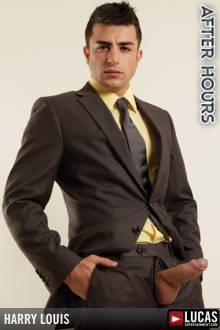 Harry Louis - Gay Model - Lucas Entertainment