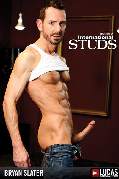 Bryan Slater - Gay Model - Lucas Entertainment