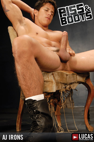 A.J. Irons - Gay Model - Lucas Entertainment