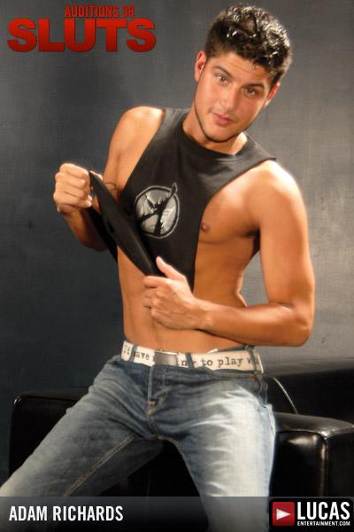 Adam Richards - Gay Model - Lucas Entertainment