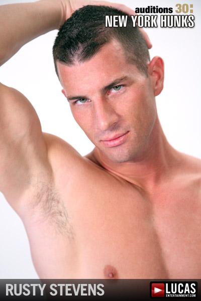 Rusty Stevens - Gay Model - Lucas Entertainment