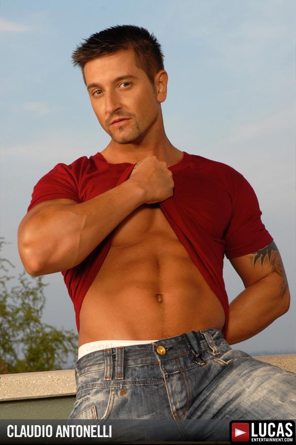 Claudio Antonelli - Gay Model - Lucas Entertainment