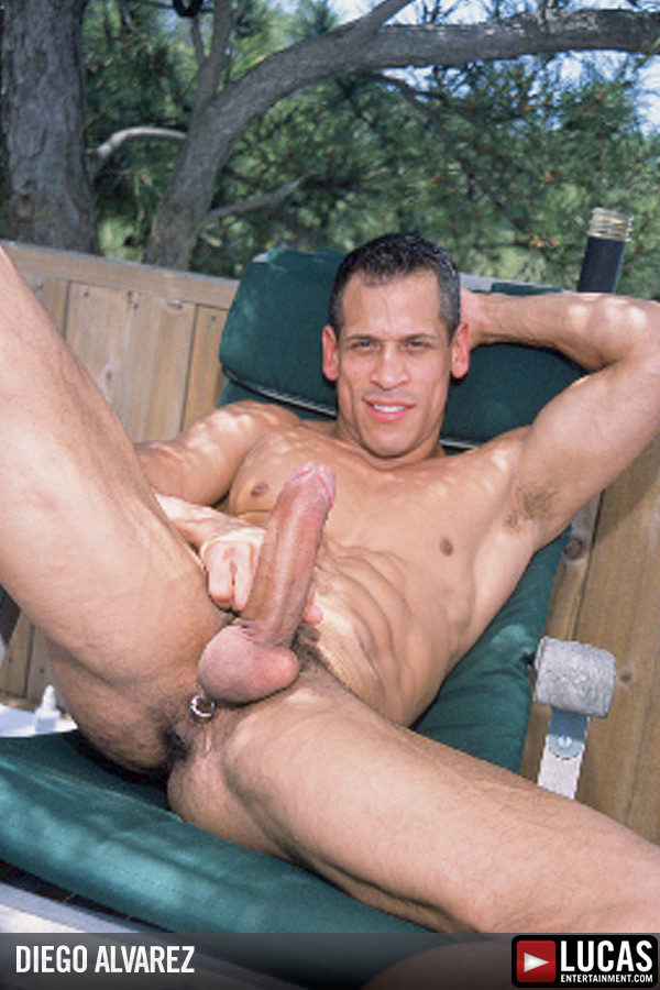 Diego Alvarez - Gay Model - Lucas Entertainment