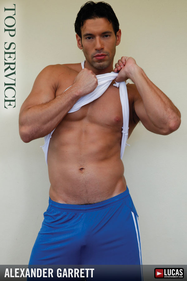 Alexander Garrett - Gay Model - Lucas Entertainment