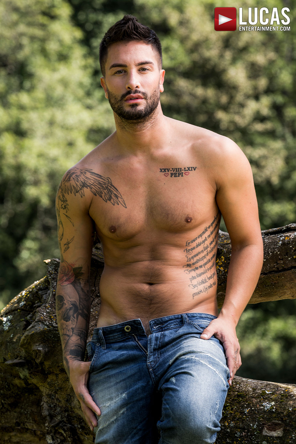 Andrea Suarez - Gay Model - Lucas Entertainment