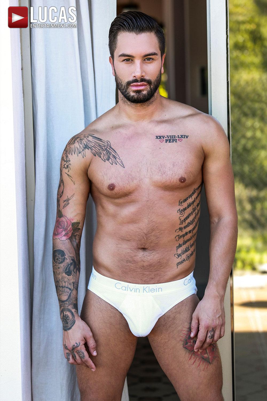 Andrea Suarez - Gay Model - Lucas Entertainment
