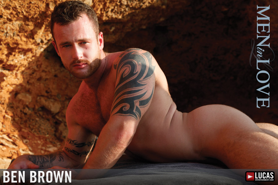 Ben Brown - Gay Model - Lucas Entertainment