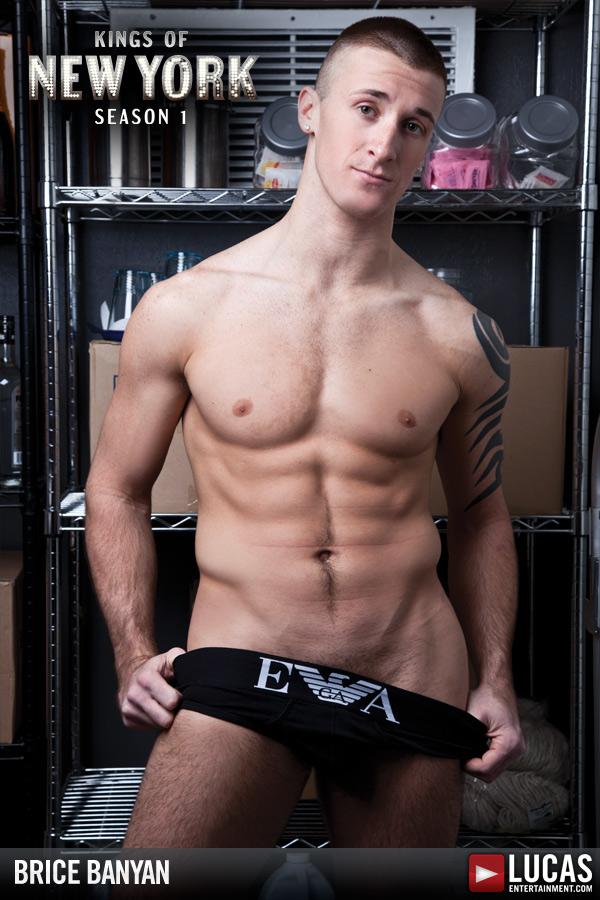 Brice Banyan - Gay Model - Lucas Entertainment
