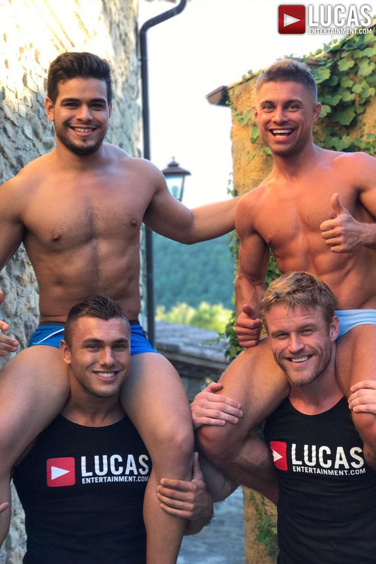 Brock Magnus - Gay Model - Lucas Entertainment