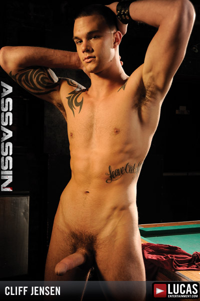 Cliff Jensen - Gay Model - Lucas Entertainment
