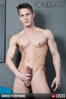 Darius Ferdynand - Gay Model - Lucas Entertainment