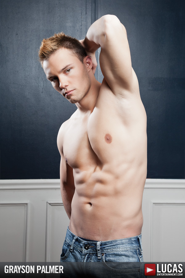 Grayson Palmer - Gay Model - Lucas Entertainment
