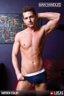 Hayden Colby - Gay Model - Lucas Entertainment