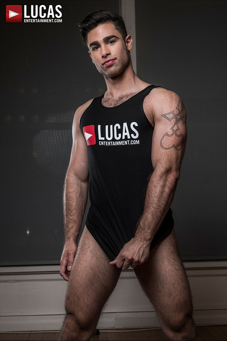 Lucas Leon - Gay Model - Lucas Entertainment
