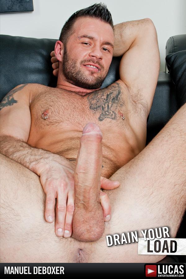Manuel DeBoxer - Gay Model - Lucas Entertainment