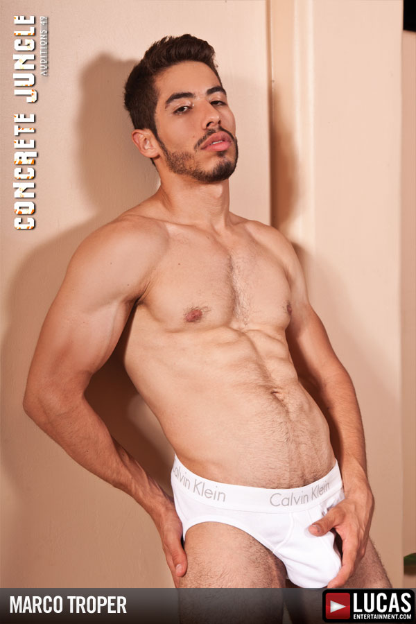 Marco Troper - Gay Model - Lucas Entertainment