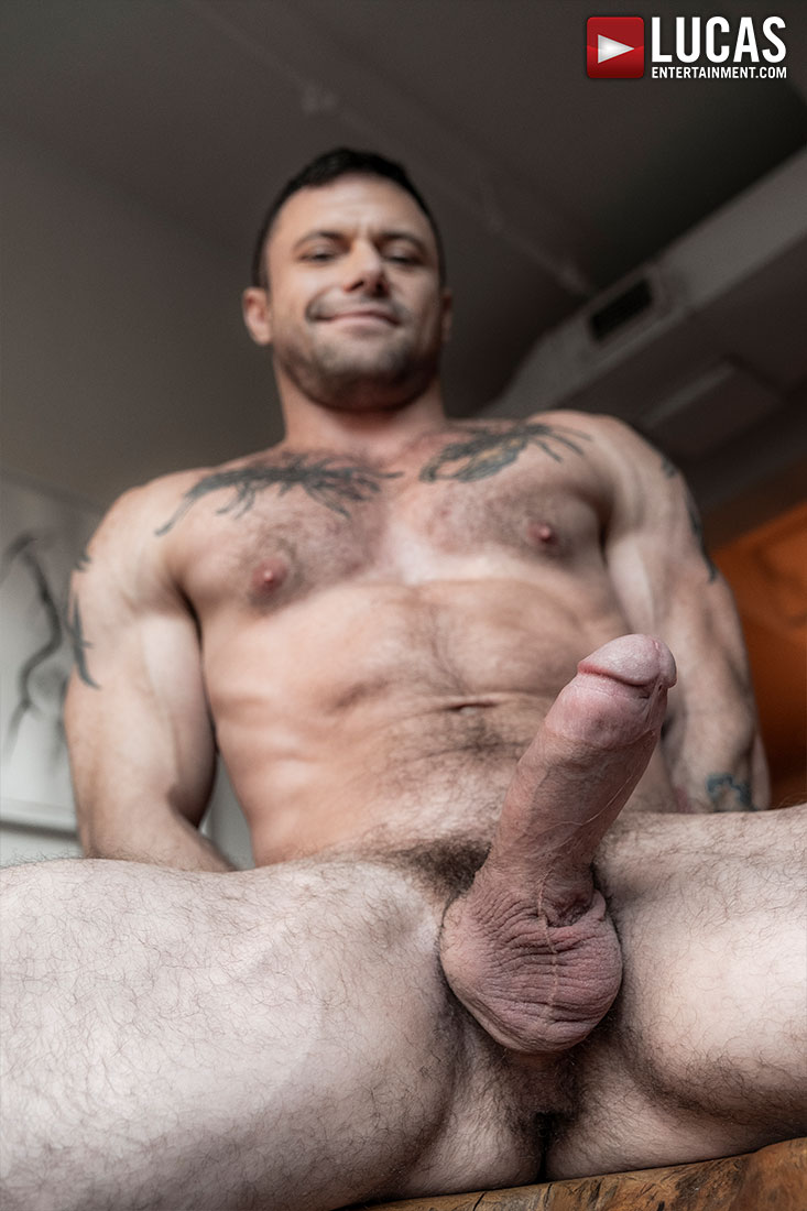 Sergeant Miles - Gay Model - Lucas Entertainment