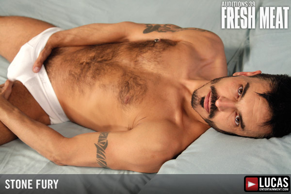 Stone Fury - Gay Model - Lucas Entertainment