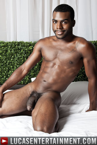 Gay black bareback white dick in ass