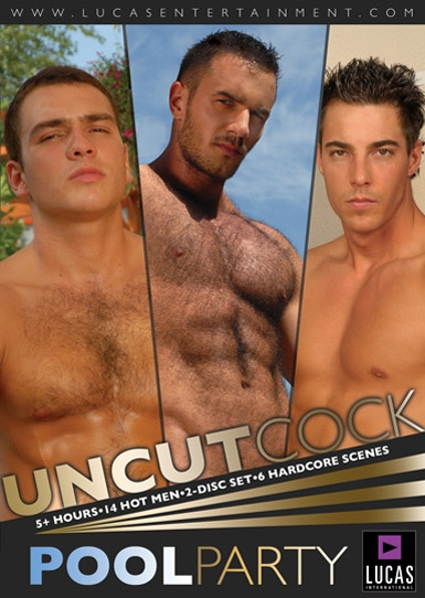 Uncut Cock Pool Party - Front Cover