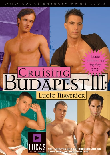 Cruising Budapest III: Lucio Maverick - Front Cover