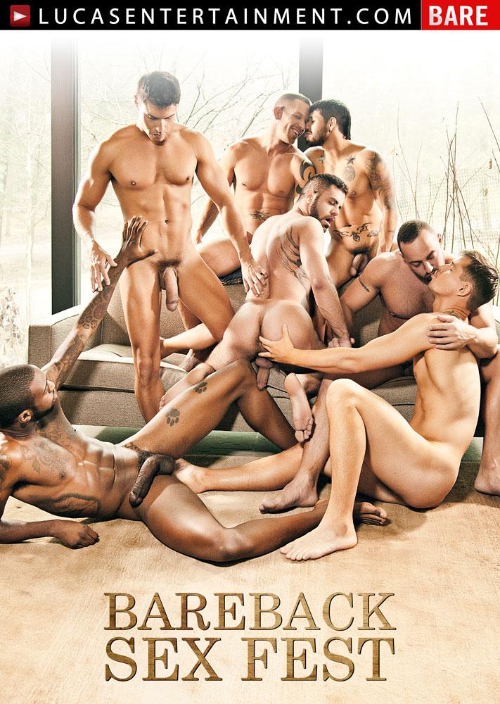 Bareback Sex Fest - Front Cover