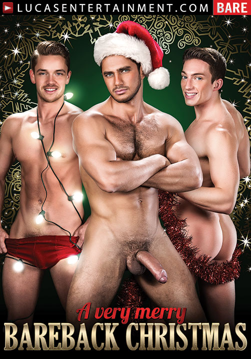 A Very Merry Bareback Christmas - Front Cover