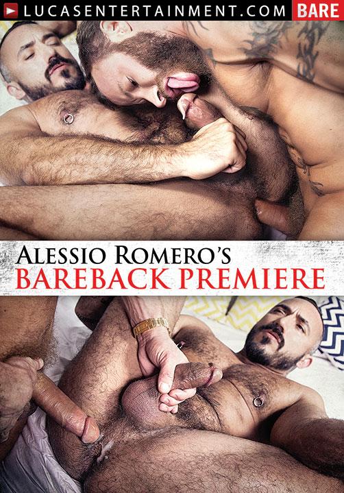 Alessio Romero's Bareback Premiere - Front Cover