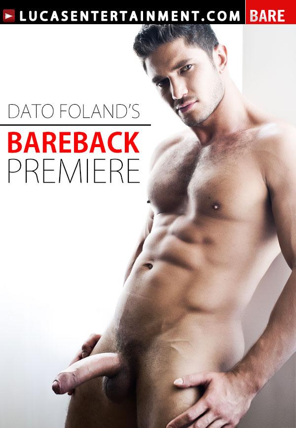 Dato Foland's Bareback Premiere - Front Cover