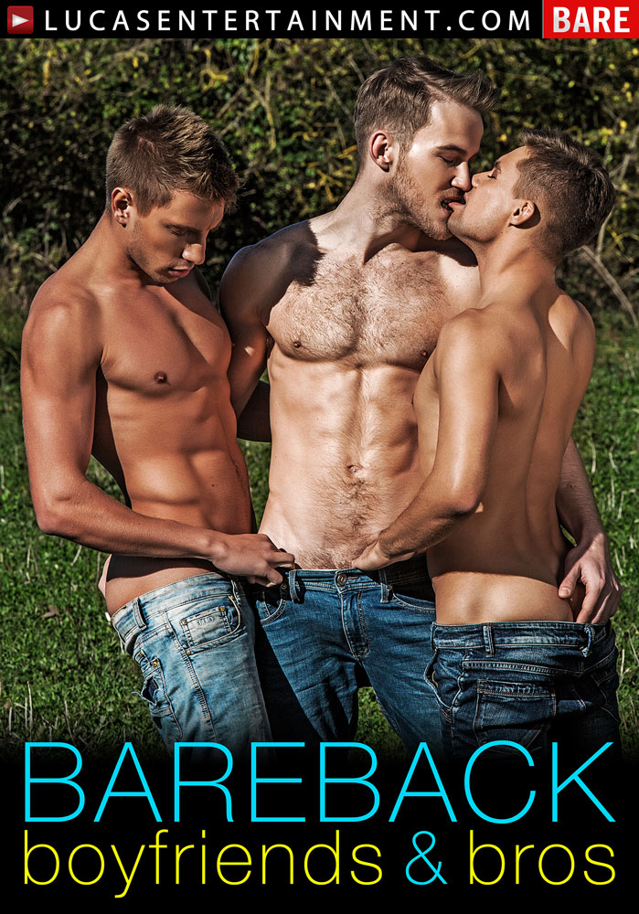 Bareback Boyfriends & Bros - Front Cover
