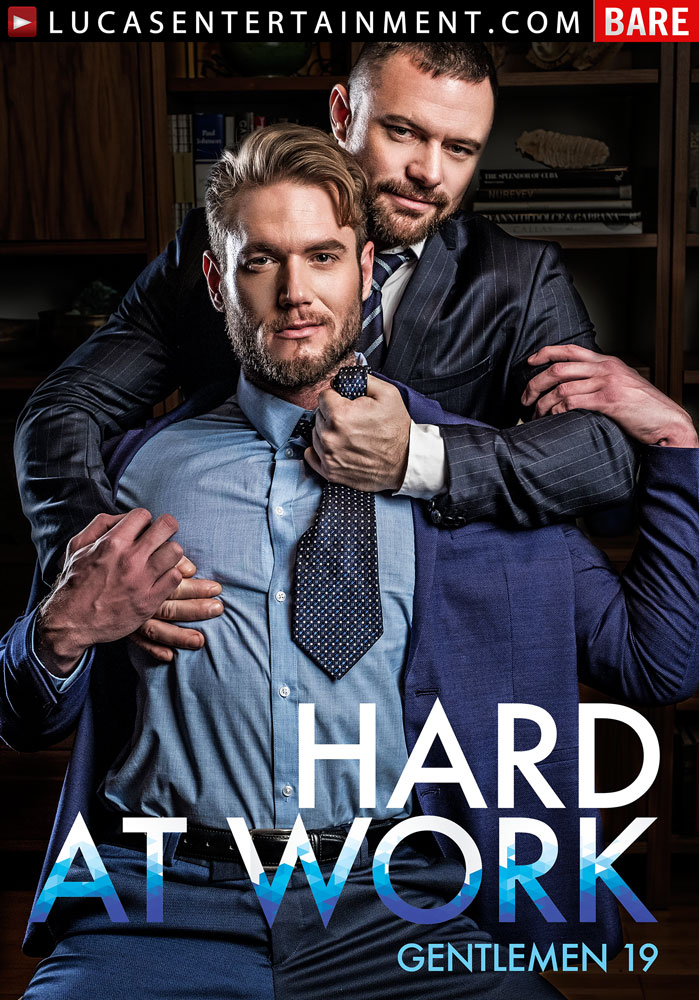 Gentlemen 19: Hard At Work - Front Cover