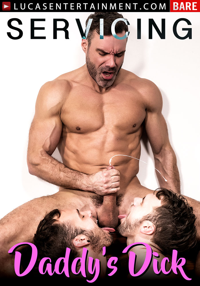 Servicing Daddy's Dick - Front Cover