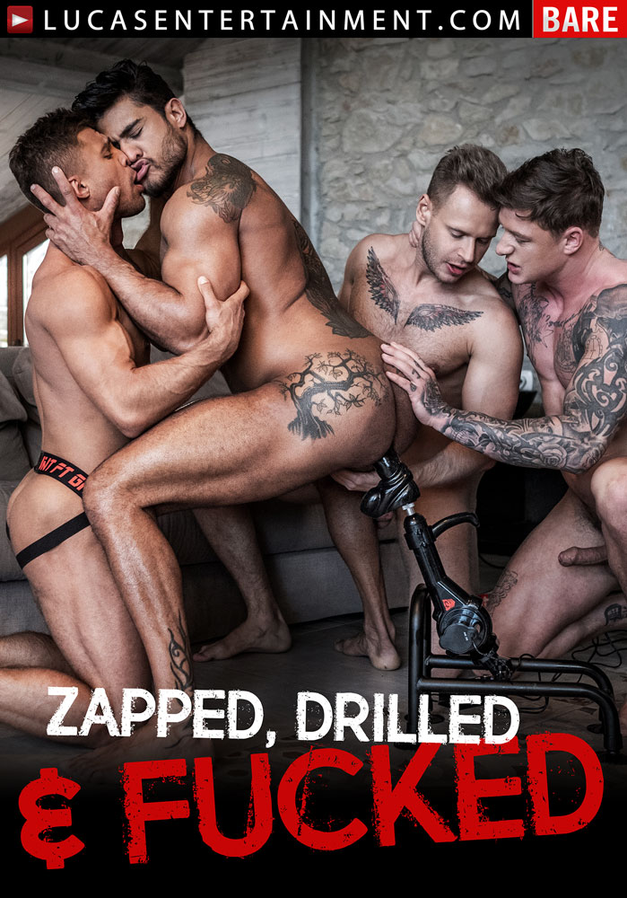 Zapped, Drilled, And Fucked - Front Cover