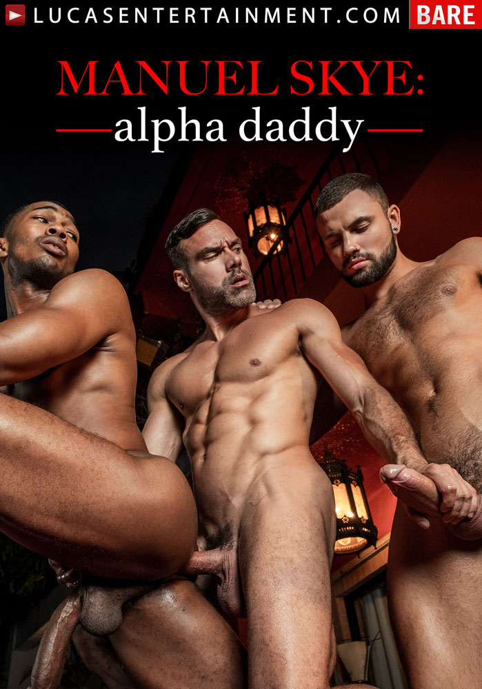 Manuel Skye: Alpha Daddy - Front Cover