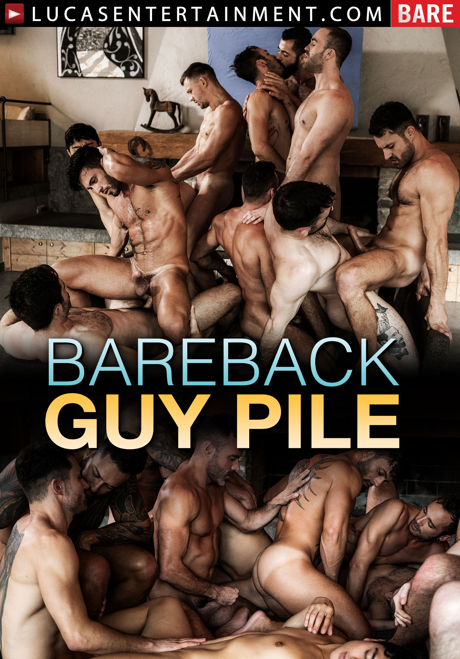 Bareback Guy Pile - Front Cover