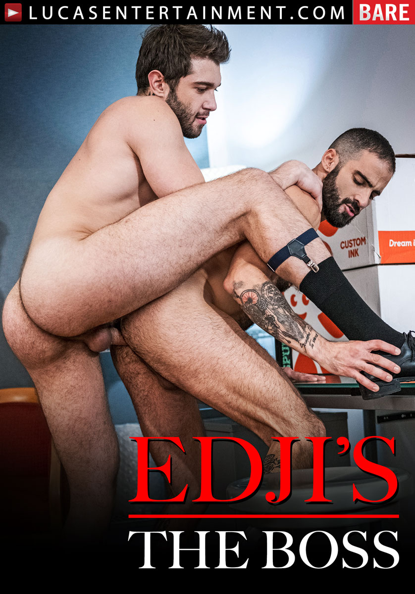 Gentlemen 25: Edji's The Boss - Front Cover