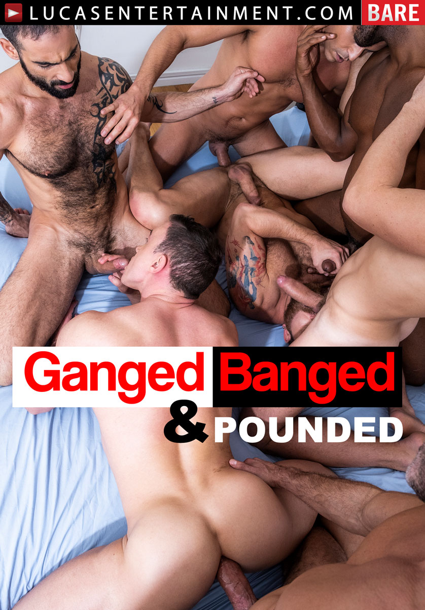 Ganged, Banged, And Pounded - Front Cover