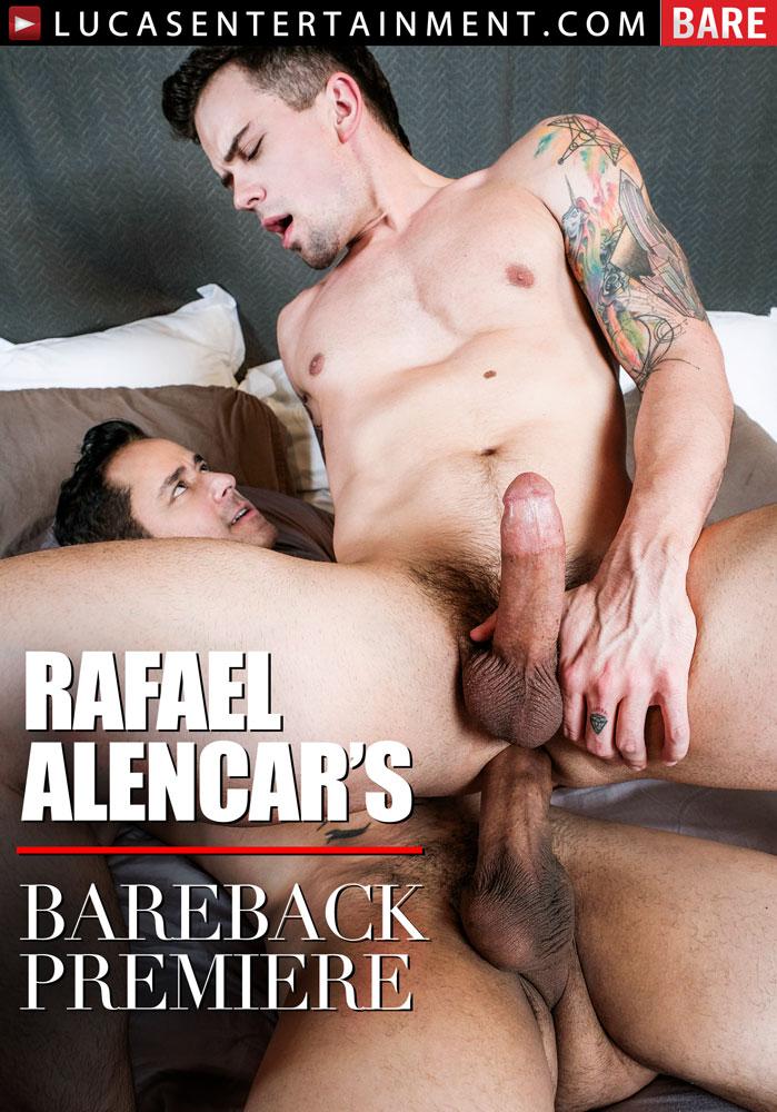 Rafael Alencar's Bareback Premiere - Front Cover