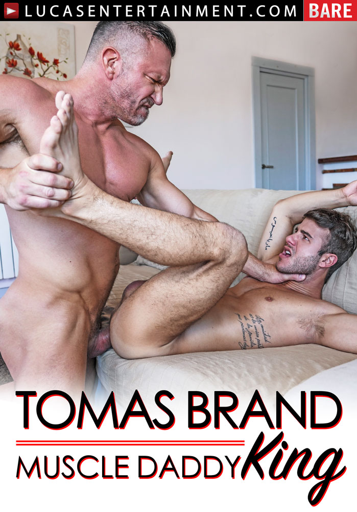 Tomas Brand: Muscle Daddy King - Front Cover